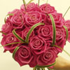 Pink wedding color theme flowers